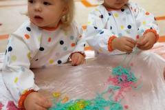 Kolorowe jedzenie-zajęcia sensoryczne