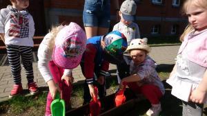 Światowy Dzień Ziemi - sadzenie kwiatów