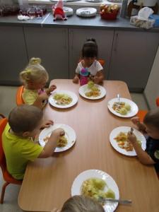 Pierwszy dzień maluszków w przedszkolu