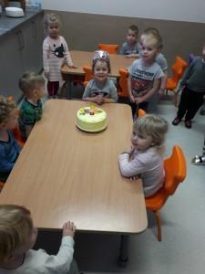 Urodziny Laury grupa niebieska